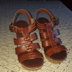 Mossimo Supply Co Wedge Sandals.